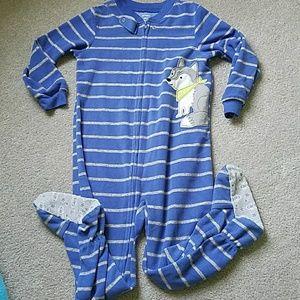 Pajamas - Bundle of 6 footie pajamas